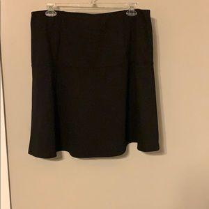 Black skirt size XL